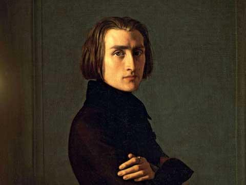 Franz Listz, ritratto