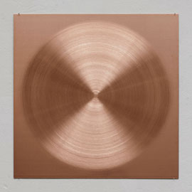 Sophie Tottie, White Lines (copper drawings),copper, 50 x 50 x 0,2 cm