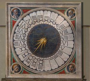 Duomo di Firenze, Paolo Uccello, Orologio, foto Antonio Quattrone, courtesy Opera di Santa Maria del Fiore