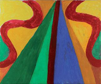 Rachele Bianchi, Senza titolo, 2014, tecnica mista su tela, 50x60 cm
