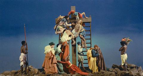 Pier Paolo Pasolini-Deposizione dalla croce - Frame da Ro.Go.Pa.G. (La Ricotta), 1963