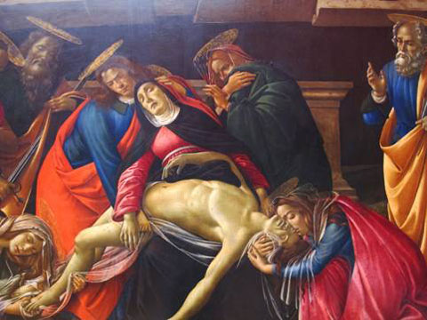 Botticelli, la Pietà