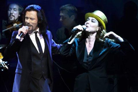 Monica Guerritore e Giovanni Nuti
