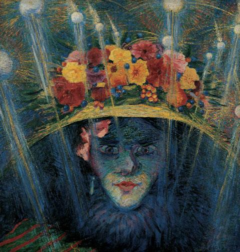 Umberto Boccioni, Idolo moderno, 1911