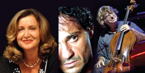 Paola Gassman, Francesco Reda e Paolo Damiani