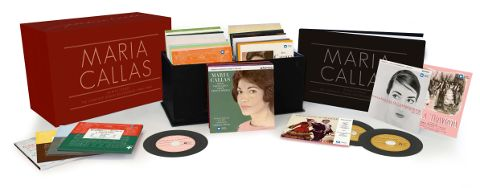 Cofanetto Maria Callas Remastered