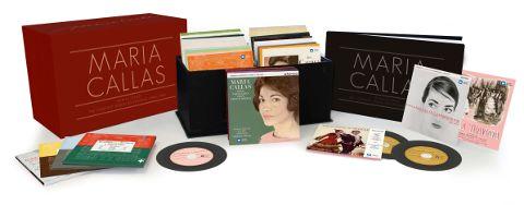 Cofanetto Maria Callas Remastered