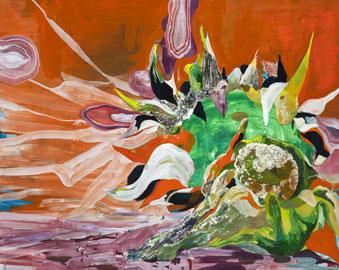Santi Moix, Sunflower1, 154,9x193 cm