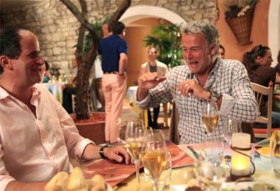 Una scena del film Barbecue