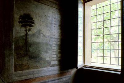 Luigi Ghirri: Casa di Ludovico Ariosto, Reggio Emilia, 1985
