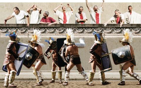 Scontro gladiatori