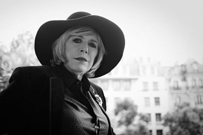 Marianne Faithfull, foto di Eric Guillemain