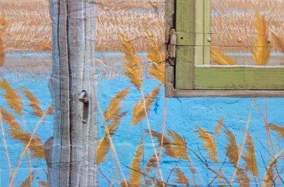 Luigi Ghirri, San Giovanni in Persiceto Bologna 1991-92, Serie Ciclo Pittorico di Piazza Betlemme, 1991-92, 36X24 cm, stampa cromogenica da negativo 6X7 cm, Courtesy Galleria Poggiali e Forconi