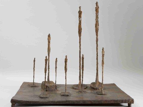 Alberto Giacometti, La Clairière