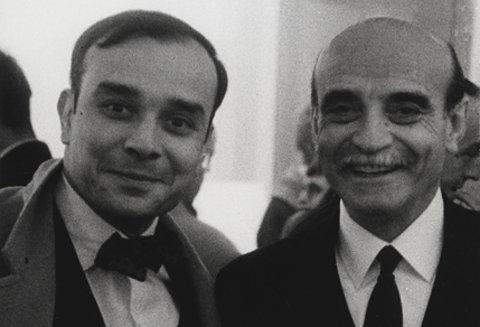 Yves Klein e Lucio Fontana