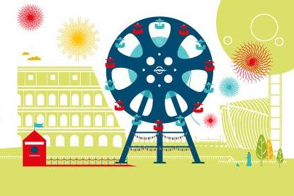 Logo del Festival Internazionale del Film di Roma