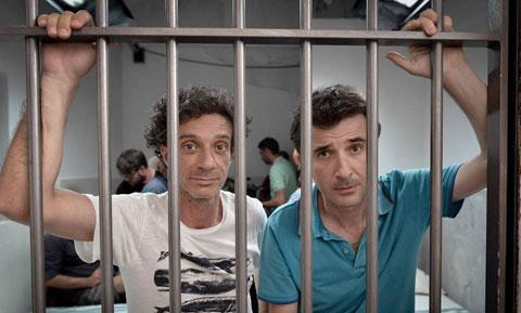 Ficarra e Picone, immagine dal film Andiamo a quel paese