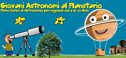 Giovani Astronomi al Planetario