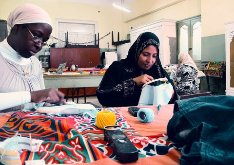 Embroiderers of actuality # CAIRO, 2013
