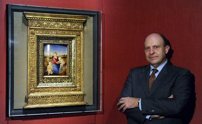 La Madonna Esterhazy di Raffaello con il curatore Stefano Zuffi