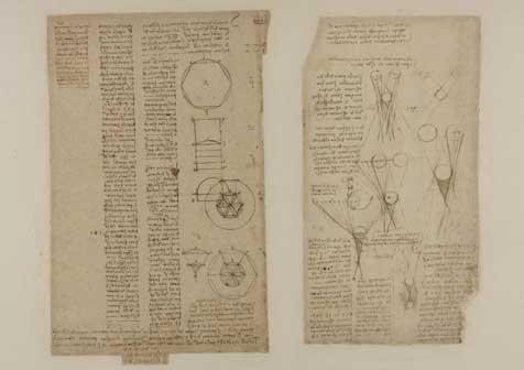 Leonardo, Ombre e lumi f. 625 a-r Studi su ombra e lume (SB) penna e inchiostro su carta mm 150 x 258 antica numerazione 119 C.A. f 625 a r (ex 229 r-b) Circa 1506-8