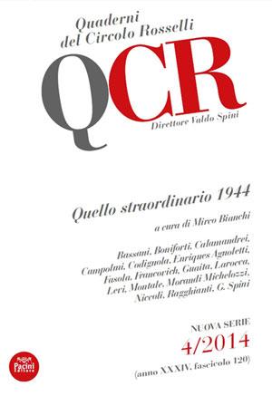 Copertina Quaderni del Circolo Rosselli