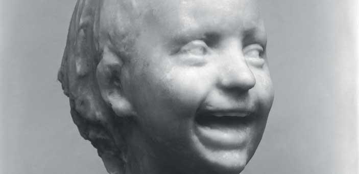 Medardo Rosso, Bambina ridente, Cera su gesso, h. 27,5, BARZIO, MUSEO ROSSO © Courtesy Museo  Rosso, Barzio