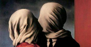 Gli amanti, dipinto di René Magritte