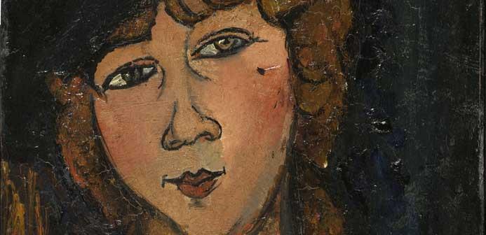 Amedeo Modigliani (Livorno, 1884 – Parigi, 1920), Lolotte, 1917, olio su tela, cm 55 x 35, Centre Pompidou, Parigi, © Centre Pompidou, MNAM-CCI/ Bertrand Prévost / Dist. RMN-GP