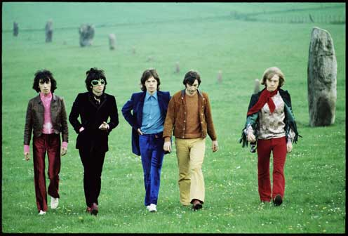 Rolling Stones, Avebury Hill 1968 © David Bailey