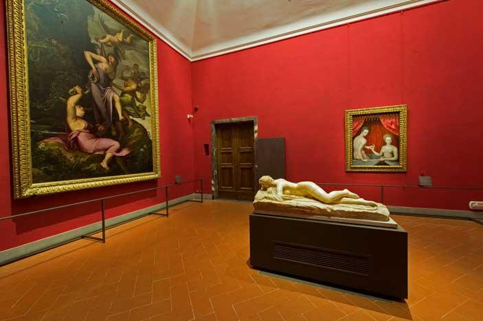 Galleria degli Uffizi, Sala 38