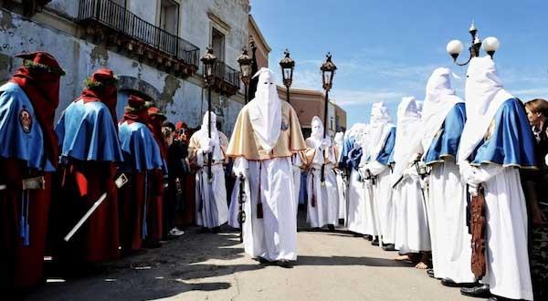 Gallipoli, processione Settimana Santa