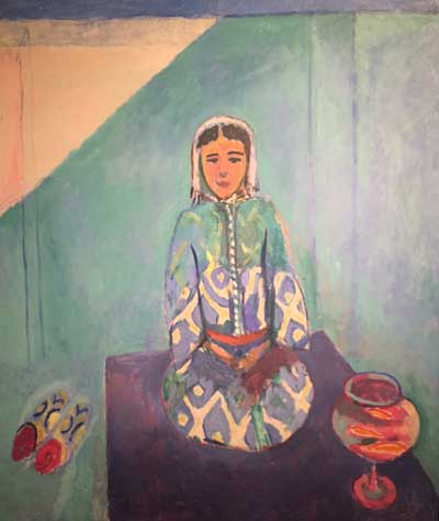 Henri Matisse, Zorah sulla terrazza, 1912‐1913