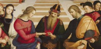 Raffaello, Sposalizio (particolare)