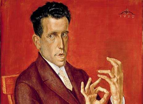 Otto Dix (1891-1969), Ritratto dell'avvocato Hugo Simons/Portrait of the Lawyer Hugo Simons, 1925, olio e tempera su tavola/ Tempera and oil on plywood, cm 100,3 x 70,3, Montreal Museum of Fine Arts, © Otto Dix, by SIAE 2015– The Montreal Museum of Fine Arts