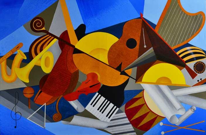 Alberto Fanfani, Orchestra