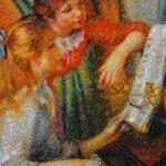 Parisi Valerio - Musicalizzazione frattale di Jeunes filles au piano