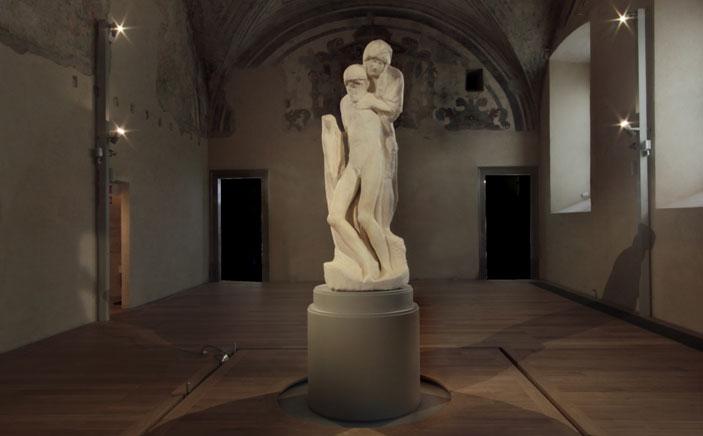 Pietà Rondanini di Michelangelo - Foto  di  Roberto Mascaroni
