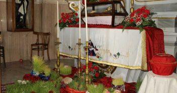 Corigliano Calabro, Chiesa del Calvario, Altare della Reposizione Giovedì Santo