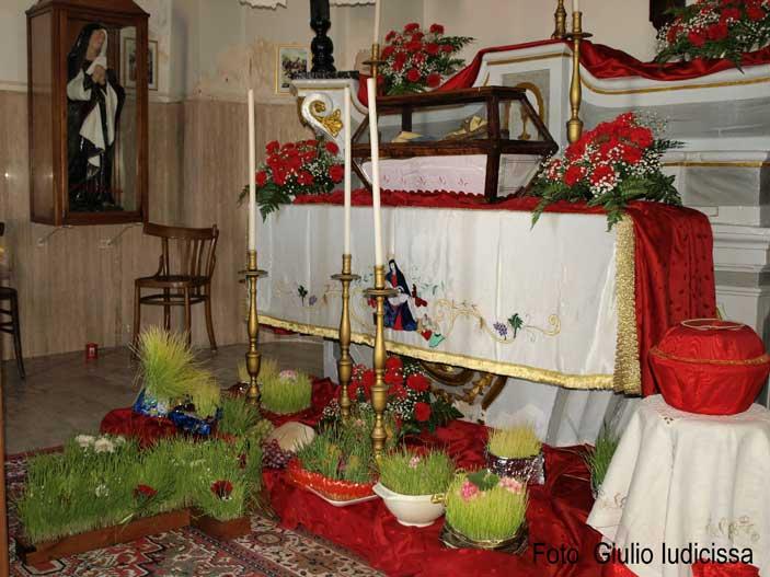 Corigliano Calabro, Chiesa del Calvario, Altare della Reposizione