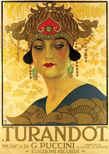 Mostra Turandot, manifesto