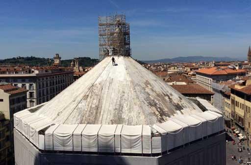 Battistero di San Giovanni, Firenze, restauro