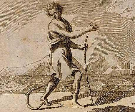 Pericolo, di Cesare Ripa, 1766