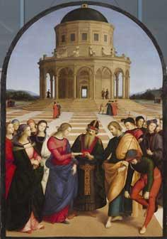 """Lo Sposalizio della Vergine"""" di Raffaello Sanzio - Sei Conversazioni d'Arte"""
