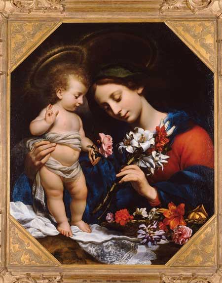 Carlo Dolci,  Madonna con Bambino