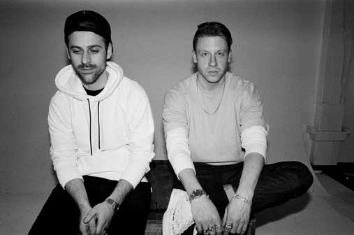 Macklemore & Ryan Lewis, Credit: Amanda Smith 2015
