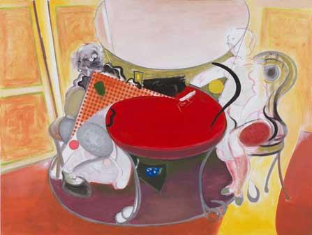 Pordenone Montanari: La partita a carte, 2012, acrilico, cm. 200x150
