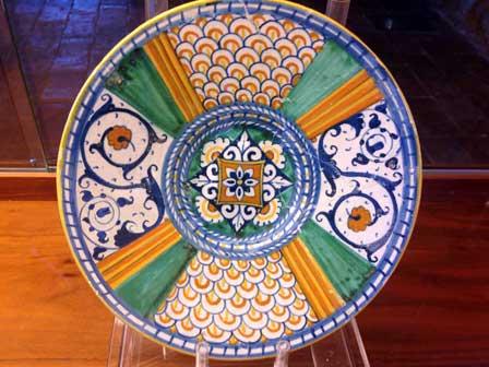 Deruta, Ceramica e Cibo