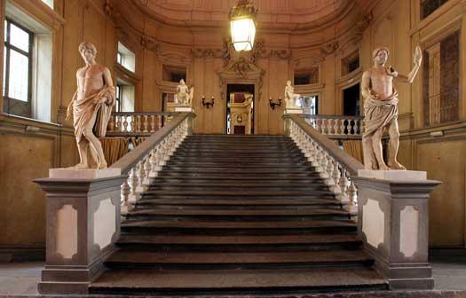 Palazzo Corsini , Scalone d'Onore restaurato