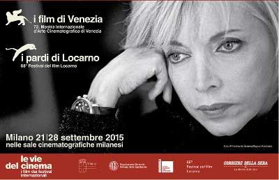 Le vie del cinema 2015 - Locandina